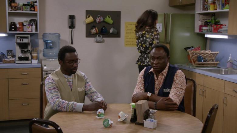 Peet's Coffee in Bob Hearts Abishola S02E06