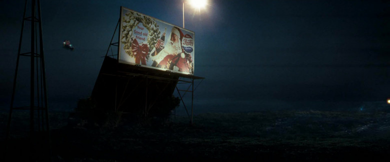 Pepsi Cola Soda Billboard in Fred Claus (2)