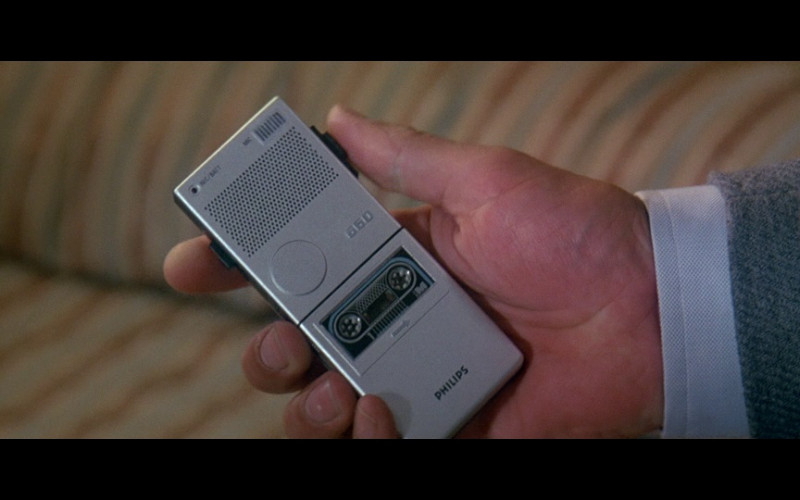 Philips 660 dictaphone in A View to a Kill (1985)