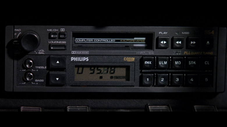 Philips Car Audio in The Living Daylights (1987)