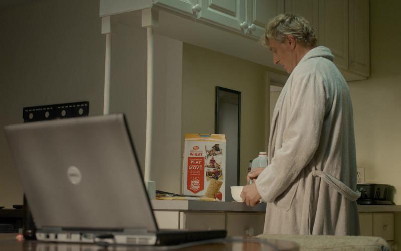 Post Shredded Wheat Cereal Enjoyed by William Zabka as Johnny Lawrence in Cobra Kai S03E09