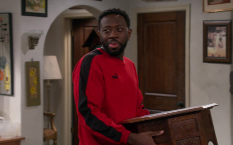 Puma Men's Sweatshirt of Sheaun McKinney as Malcolm Butler in The Neighborhood S03E08