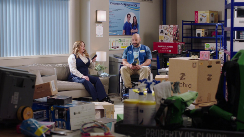 Radio Flyer and Sunbeam in Superstore S06E07 The Trough (2021)
