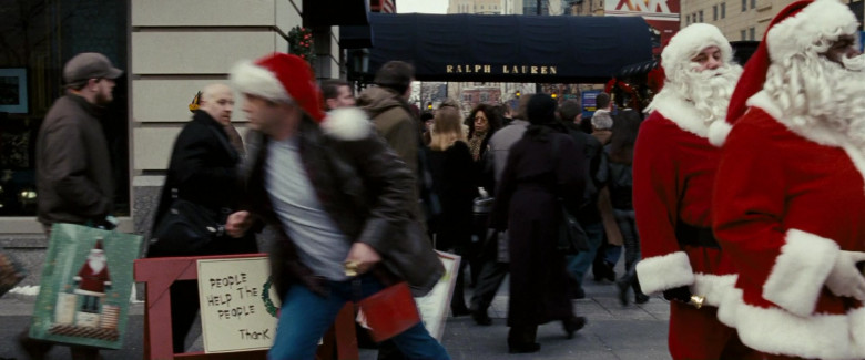 Ralph Lauren Store in Fred Claus (2007)