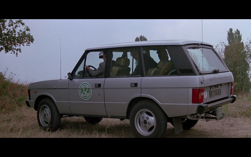 Range Rover Car in A View to a Kill (1985)