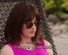 Ray-Ban RB2180 Women's Round Sunglasses of Margo Harshman as...