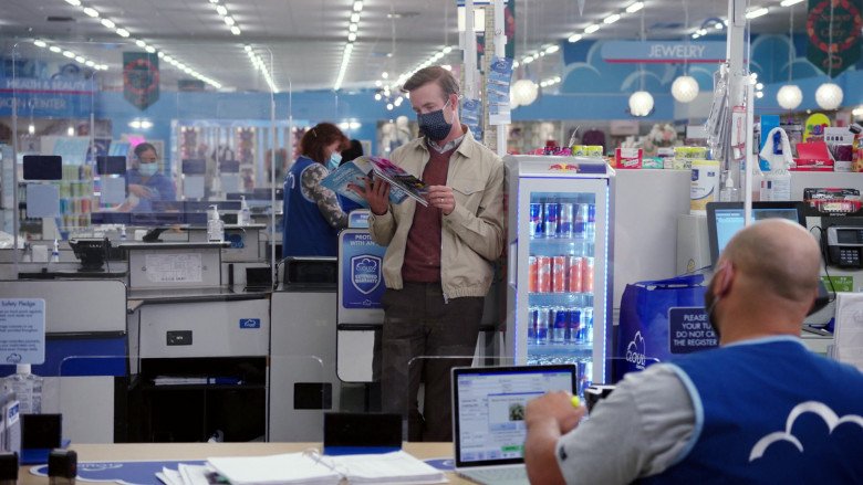 Red Bull Energy Drinks in Superstore S06E06 Biscuit (2021)