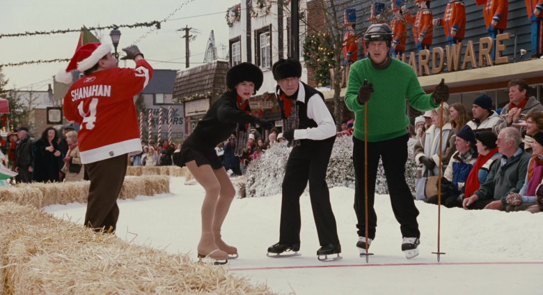 Reebok Detroit Red Wings Ice Hockey Team Jersey of Danny DeVito as Buddy Hall in Deck the Halls (1)