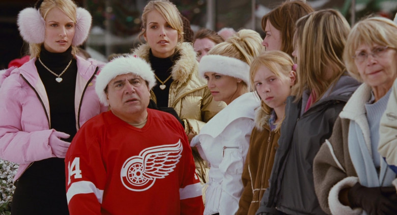 Reebok Detroit Red Wings Ice Hockey Team Jersey of Danny DeVito as Buddy Hall in Deck the Halls (4)