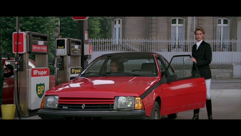 Renault Fuego Turbo Red Car in A View to a Kill (1985)