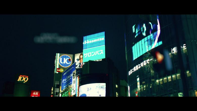 SHIBUYA 109, H&M, MasterCard, Hisamitsu in Resident Evil Afterlife (2010)