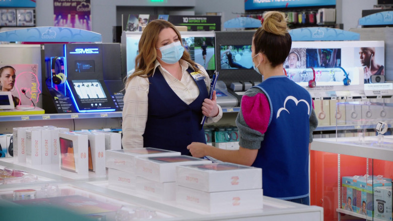 SMS Audio in Superstore S06E07 The Trough (2021)