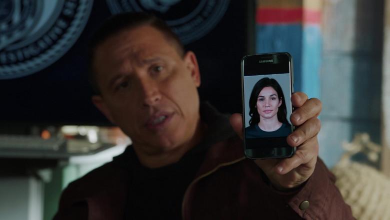 Samsung Galaxy Smartphone of Erik Palladino as Vostanik Sabatino in NCIS Los Angeles S12E08