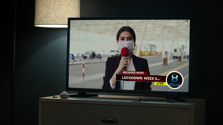 Samsung Television in For Life S02E06 (1)