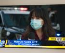 Samsung Television in Mr. Mayor S01E01 Pilot (2021)