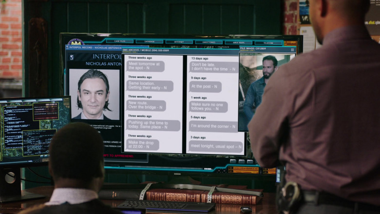 Samsung Television in NCIS New Orleans S07E06 (1)