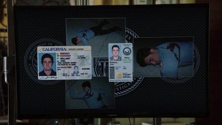 Samsung Televisions in NCIS Los Angeles S12E07 (1)
