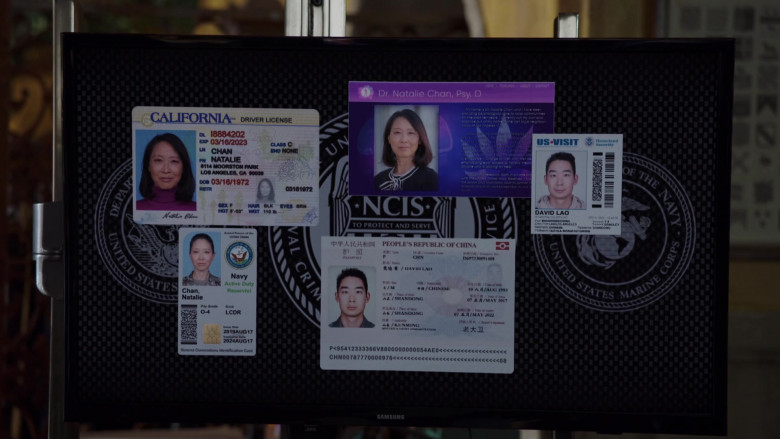 Samsung Televisions in NCIS Los Angeles S12E07 (3)