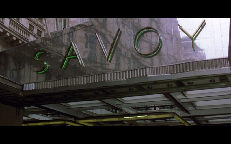 Savoy Hotel, London in Entrapment (1999)