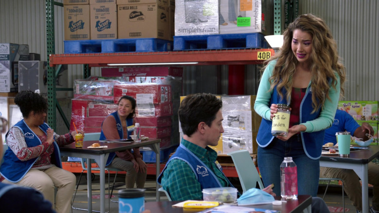 Scott, Charmin, Simplehuman, Radio Flyer, LaCroix, Balloon Time in Superstore S06E06 Biscuit (2021)