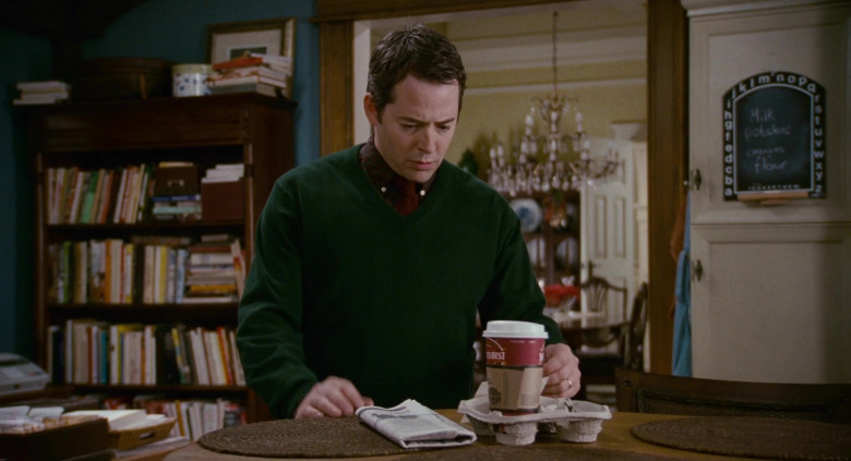 Seattle's Best Coffee of Matthew Broderick as Dr. Steve Finch in Deck the Halls (2)