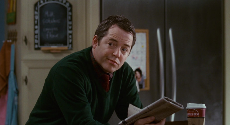Seattle's Best Coffee of Matthew Broderick as Dr. Steve Finch in Deck the Halls (3)