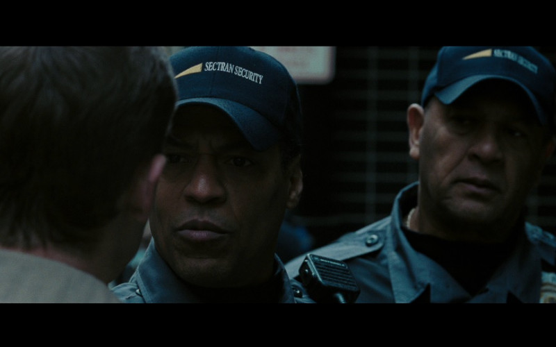 Sectran Security & Motorola police radio in Eagle Eye (2008)
