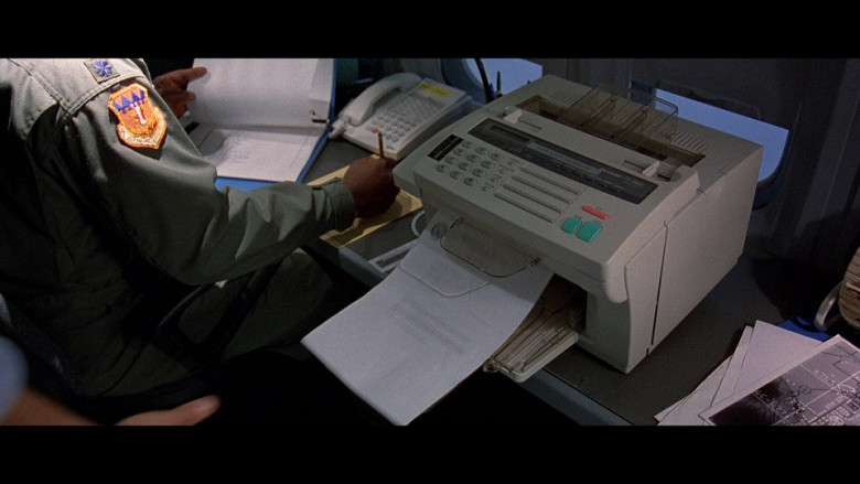 Sharp Printer in The Peacemaker (1997)