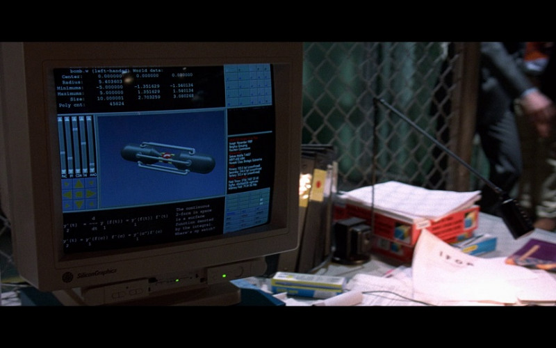 Silicon Graphics Computer Monitors in The Peacemaker Movie (1)