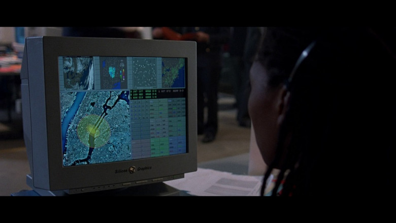 Silicon Graphics Computer Monitors in The Peacemaker Movie (2)