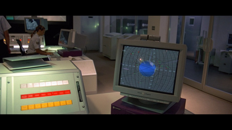 Silicon Graphics Monitor and Indigo2 Workstation in The Peacemaker 1997 (1)