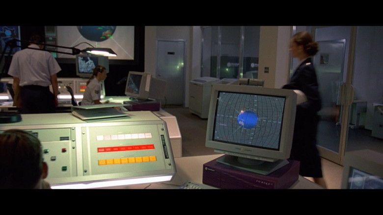 Silicon Graphics Monitor and Indigo2 Workstation in The Peacemaker 1997 (2)