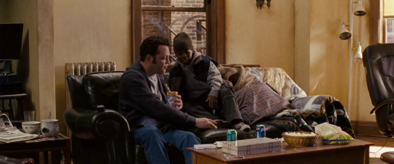 Skippy Peanut Butter and Pepsi Soda in Fred Claus (2007)