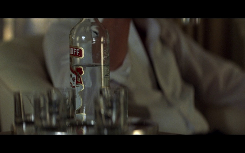 Smirnoff vodka in Tomorrow Never Dies (1997)