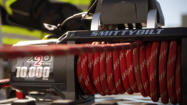 Smittybilt Automotive Winches in 9-1-1 S04E01 The New Abnormal (2021)