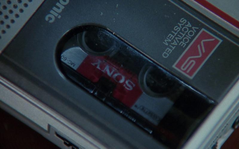 Sony Cassette in The Bonfire of the Vanities (1990)
