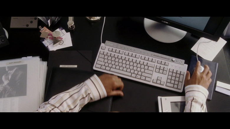 Sony Monitor and Vaio PC Keyboard in Hitch (2005)