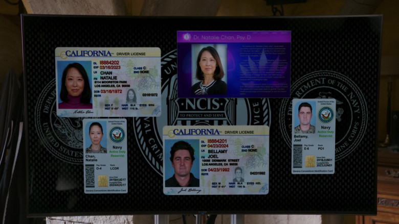 Sony TV in NCIS Los Angeles S12E07 Overdue (2)