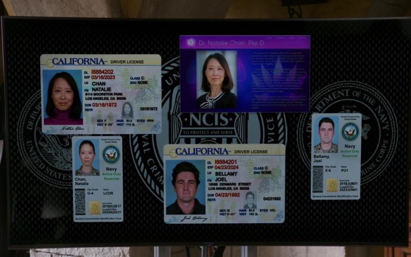 Sony TV in NCIS Los Angeles S12E07 Overdue (2)