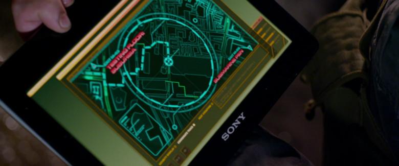 Sony Tablet in Resident Evil Retribution (2)