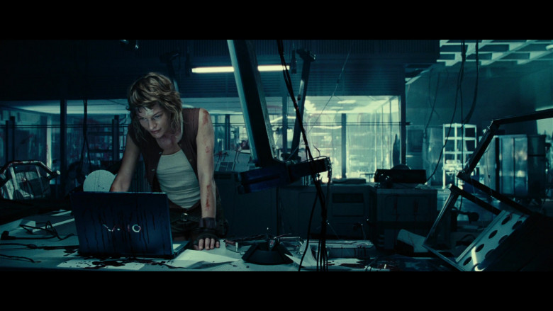 Sony Vaio Laptop Used by Milla Jovovich as Alice in Resident Evil Extinction