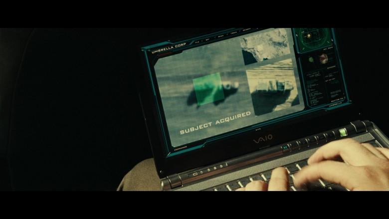 Sony Vaio Laptops of Iain Glen as Dr. Alexander Isaacs in Resident Evil Extinction (3)