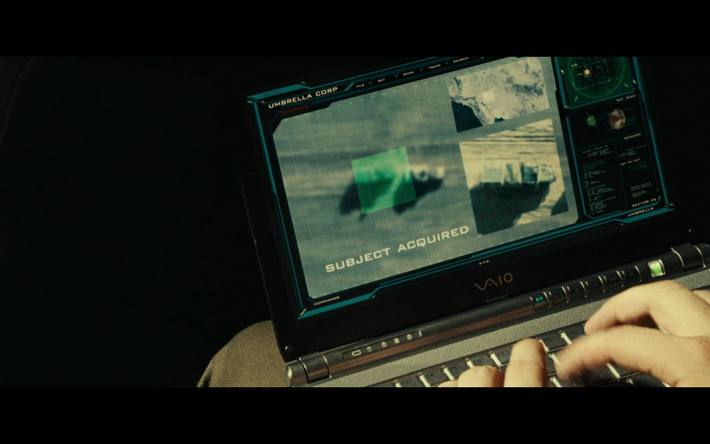 Sony Vaio Laptops of Iain Glen as Dr. Alexander Isaacs in Resident Evil Extinction (3)