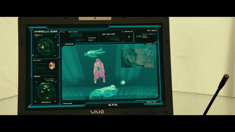 Sony Vaio Laptops of Iain Glen as Dr. Alexander Isaacs in Resident Evil Extinction (4)