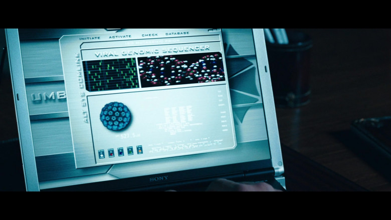 Sony Vaio Notebook of Jared Harris as Dr. Charles Ashford in Resident Evil Apocalypse (3)