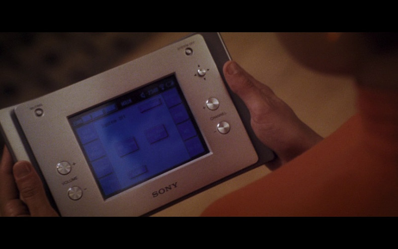 Sony control panel in Hitch (2005)