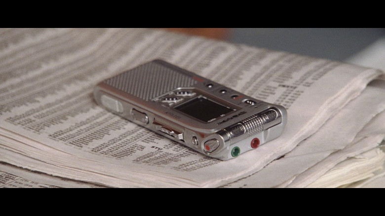 Sony dictaphone in Hitch (2005)
