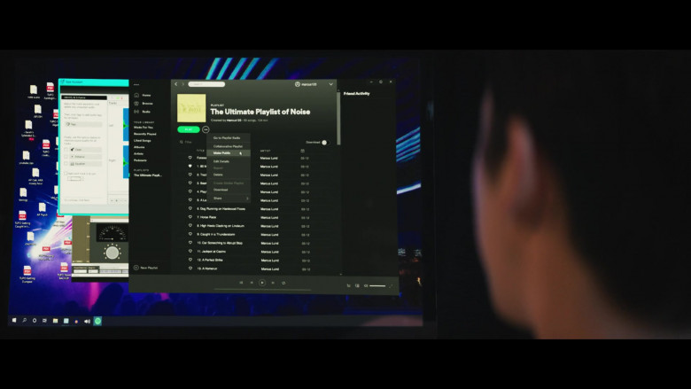 Spotify App in The Ultimate Playlist of Noise (1)