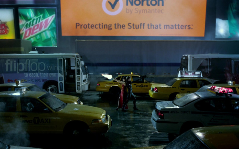 Stella Artois, Norton by Symantec, Oakley, Flip Flop Wines in Resident Evil Retribution (2012)