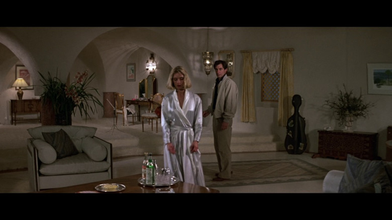 Stolichnaya Vodka & Martini Vermouth Bottles in The Living Daylights (1987)